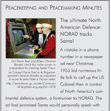 The ultimate North American Devence: NORAD tracks Santa!